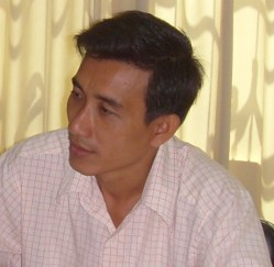 Mr. Lim Samon, Division Director of CAMKAA